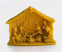 Drobnosti - Betlehem - vosková dekorácia - 7296498_