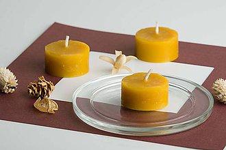 Drobnosti - Čajová sviečka - 7296899_
