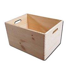 Polotovary - veľká masívna krabica - 7295392_