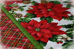 """Úžitkový textil - obrus """"home for the holidays"""" - 7296114_"""