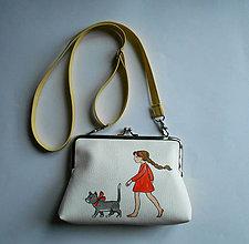 Detské tašky - s mačkou - 7296432_