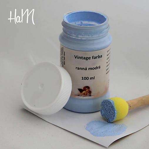 Vintage farba 100 ml - ranná modrá