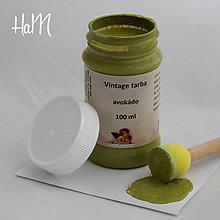 Farby-laky - Vintage farba 100 ml - avokádo - 7295896_