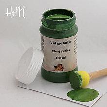 Farby-laky - Vintage farba 100 ml - zelený prales - 7295910_