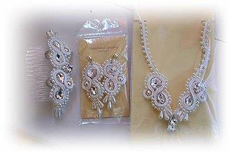 Sady šperkov - svadobný setík - 7293643_