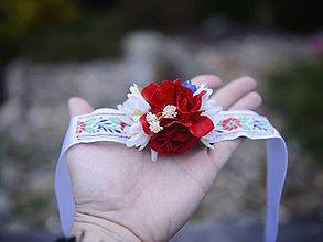 Náramky - AKCIA naramok folklórny by michelle flowers - 7299268_