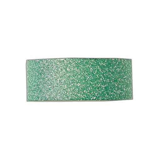 Papierová samolepiaca páska Glitrovaná zelená