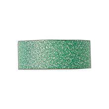 Papier - Papierová samolepiaca páska Glitrovaná zelená - 7300513_