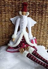 Bábiky - Vianočná anjelka - 7299385_