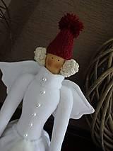 Bábiky - Vianočná anjelka - 7299386_