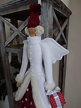 Bábiky - Vianočná anjelka - 7299390_