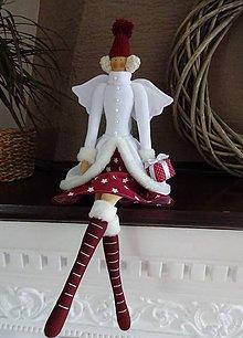 Bábiky - Vianočná anjelka - 7299391_