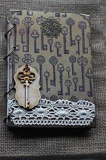 Papiernictvo - Zápisník Steampunk Fantasy