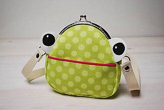 Detské tašky - Kabelka žabková - 7301099_