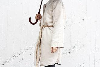 Kabáty - Semišový kabát - 7301985_