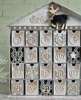 Dekorácie - Fínska rozprávka adventný kalendár - 7298840_