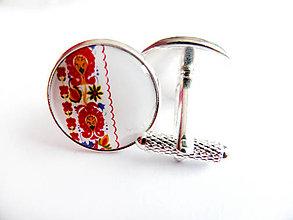 Šperky - Manžetové gombíky Valér 1 - 7302605_