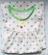 Detské oblečenie - košuľka Ruženka Šípkovie Hviezdičková - 7299191_
