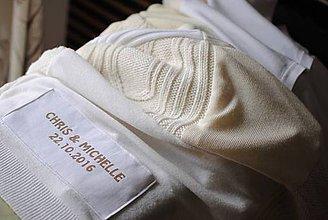 Úžitkový textil - 100 štvorčeková  pre novomanželov - 7300568_