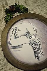 Dekorácie - Vianočný tanier - 7301464_