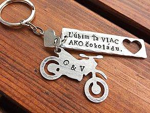 Kľúčenky - Ľúbim Ťa viac ako ... - 7306212_
