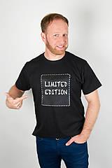 Pánske tričko štvorec -popisovateľné tričko - alebo tabuľa na tričku