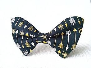 Náhrdelníky - Bow tie with arrows - 7304027_