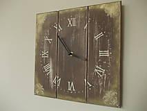 Nástenné hodiny - zlatý čas