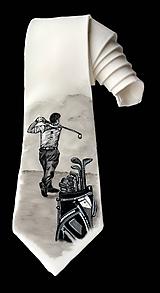 Hodvábna kravata - Golf