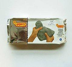 Modelovacie hmoty - Samotvrdnúca hmota JOVI - šedá - 7305928_