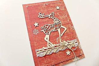 Papiernictvo - pohľadnica vianočná - 7303912_