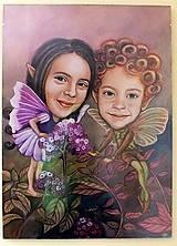 Obrazy - ♥ Karikatúrky detičiek ♥ - 7303181_