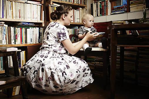 """aa2d3df8e Rovnaké rodinné oblečenie pre mamu a dcéru """"Sladkosti Krajiny zázrakov"""""""