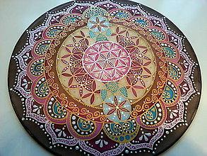 Dekorácie - Mandala Kvet života - 7303531_