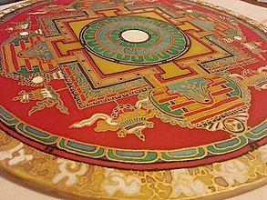 Dekorácie - Buddhistická mandala - 7304057_