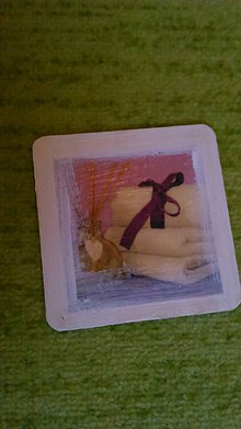 Pomôcky - podšálka mäkkučký uterák - 7306328_