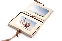 Papiernictvo - Foliobox Natur na foto 13 x 18 cm - 7306236_