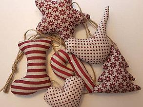 Dekorácie - ...girlanda vianočná v bordovom... - 7302967_