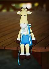 Hračky - Žirafa Rafael - 7307295_