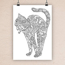 Kresby - Mačka 5. - 7306000_