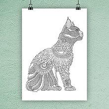 Kresby - Mačka 15. - 7306073_