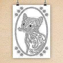 Grafika - Mačka 19. - 7306118_