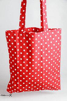 Nákupné tašky - niečo ako EKOTAŠKA - červená karkulka - 7304006_