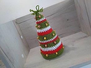 Hračky - Vianočný stromček 21 cm - 7303902_