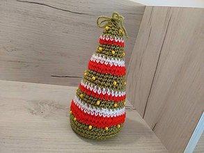 Dekorácie - Vianočný stromček 17 cm - 7303929_