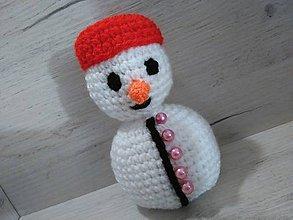 Hračky - snehuliačik /14 cm/ - 7307291_