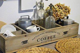 Nábytok - Debnička Coffee s priehradkami - 7305342_