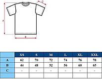 Tričká - Pánske tričko s dlhým rukávom - popisovateľné kriedou - alebo tabuľa na tričku - 7311454_