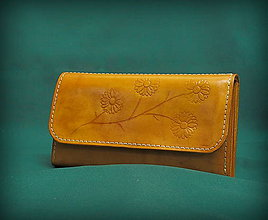 Peňaženky - Dámská kožená peněženka - 7308859_