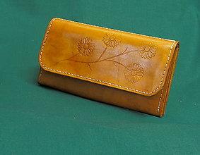 Peňaženky - Dámská kožená peněženka - 7308865_